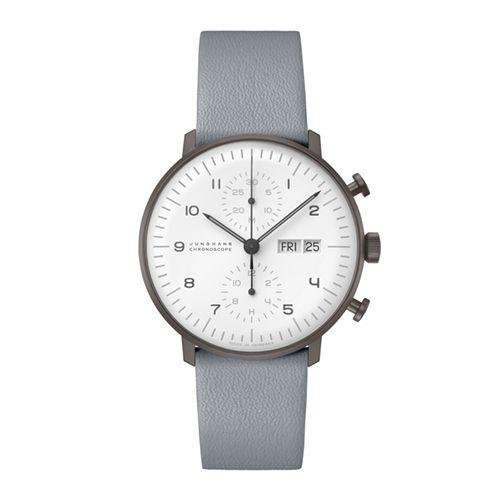 """<p>Blue Max Bill Chronoscope</p><p><a class=""""link rapid-noclick-resp"""" href=""""https://go.redirectingat.com?id=127X1599956&url=https%3A%2F%2Fwww.mrporter.com%2Fen-gb%2Fmens%2Fproduct%2Fjunghans%2Fluxury-watches%2Fchronograph-watches%2Fmax-bill-chronoscope-automatic-40mm-stainless-steel-and-leather-watch-ref-no-027400805%2F20346390235890631&sref=https%3A%2F%2Fwww.esquire.com%2Fuk%2Fwatches%2Fg25973970%2Fbest-mens-watches%2F"""" rel=""""nofollow noopener"""" target=""""_blank"""" data-ylk=""""slk:SHOP"""">SHOP</a></p><p>Junghans isn't like your other Swiss watch brands. It's got Swiss made credentials, sure. But it feels more mid-century, choosing to revel in its German ancestry, the Bauhaus movement and founder of the Concrete Art movement Max Bill, who lends his name to this blue chronoscope.</p><p>Created in homage to the landmark artist, it's another example of clean, classic minimalism from a brand that eschews the usual Fancy Stuff for a watch you can wear everywhere.</p><p>£1,895; <a href=""""https://go.redirectingat.com?id=127X1599956&url=https%3A%2F%2Fwww.mrporter.com%2Fen-gb%2Fmens%2Fproduct%2Fjunghans%2Fluxury-watches%2Fchronograph-watches%2Fmax-bill-chronoscope-automatic-40mm-stainless-steel-and-leather-watch-ref-no-027400805%2F20346390235890631&sref=https%3A%2F%2Fwww.esquire.com%2Fuk%2Fwatches%2Fg25973970%2Fbest-mens-watches%2F"""" rel=""""nofollow noopener"""" target=""""_blank"""" data-ylk=""""slk:mrporter.com"""" class=""""link rapid-noclick-resp"""">mrporter.com</a></p>"""
