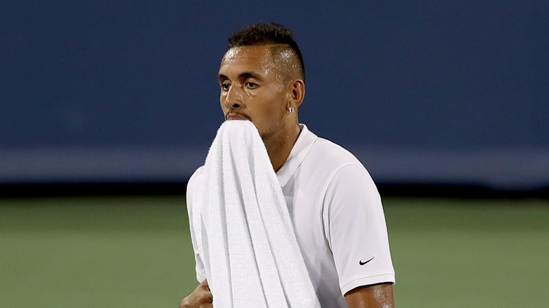 Nick Kyrgios fined $113000, could face suspension over meltdown at Cincinnati Masters