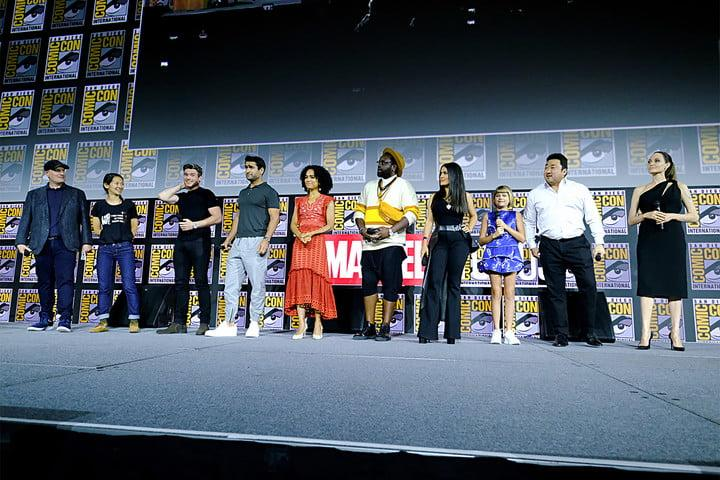 the eternals marvel studios at san diego comic con international 2019 getty images