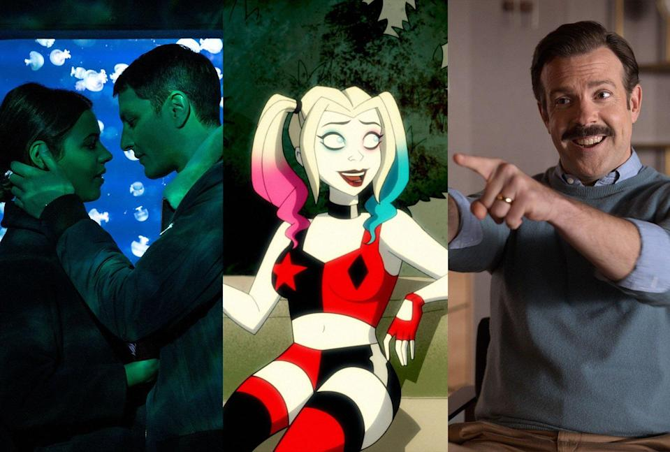 The Hookup Plan; Harley Quinn; Ted Lasso