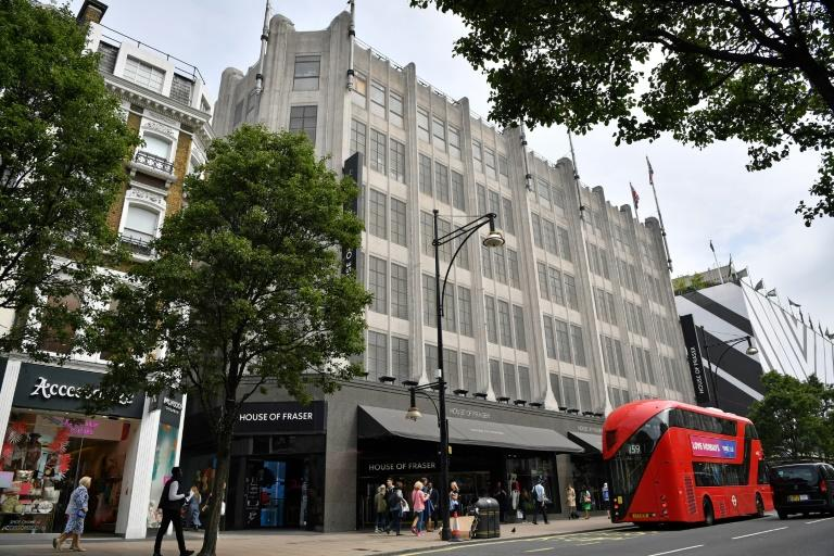 China's C.banner pulls House of Fraser investment plan