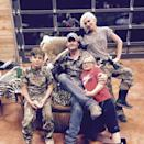 """<p>Before asking Stefani to marry him, a source told PEOPLE that he <a href=""""https://people.com/music/blake-shelton-asked-gwen-stefanis-sons-permission-before-proposing-source-exclusive/"""" rel=""""nofollow noopener"""" target=""""_blank"""" data-ylk=""""slk:asked his future stepsons for approval"""" class=""""link rapid-noclick-resp"""">asked his future stepsons for approval</a>.</p> <p>""""Blake told her boys that he wanted to propose and asked their permission,"""" a source close to Stefani said at the time. """"Her family very much approves of him. He's an amazing partner and a great extra dad to the boys. Gwen is ecstatic. The proposal was a surprise.""""</p>"""