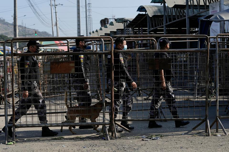Ecuador Prison Violence (Copyright 2021 The Associated Press. All rights reserved)