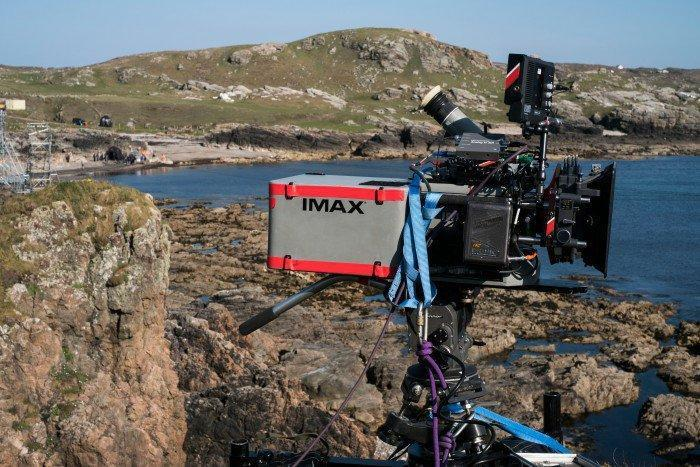One of the IMAX cameras used on the 'Star Wars' set. (Credit: Disney)