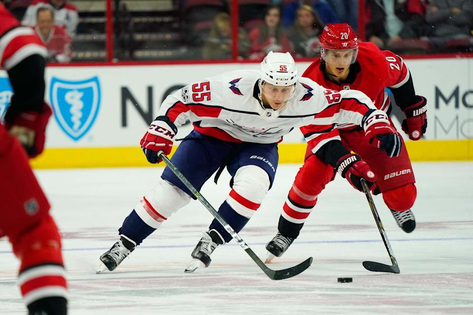 Capitals' defensive prospect and Hershey Bears blueliner Aaron Ness was hit in the head and knocked out in Friday's playoff game against Bridgeport. After going to the hospital, Ness is said to be in stable condition and will be released.