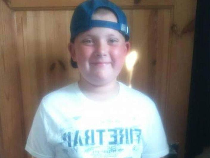 The mother of Blake Barrass, 14, pictured, has been charged with murdering him and his brother (Picture: Facebook)