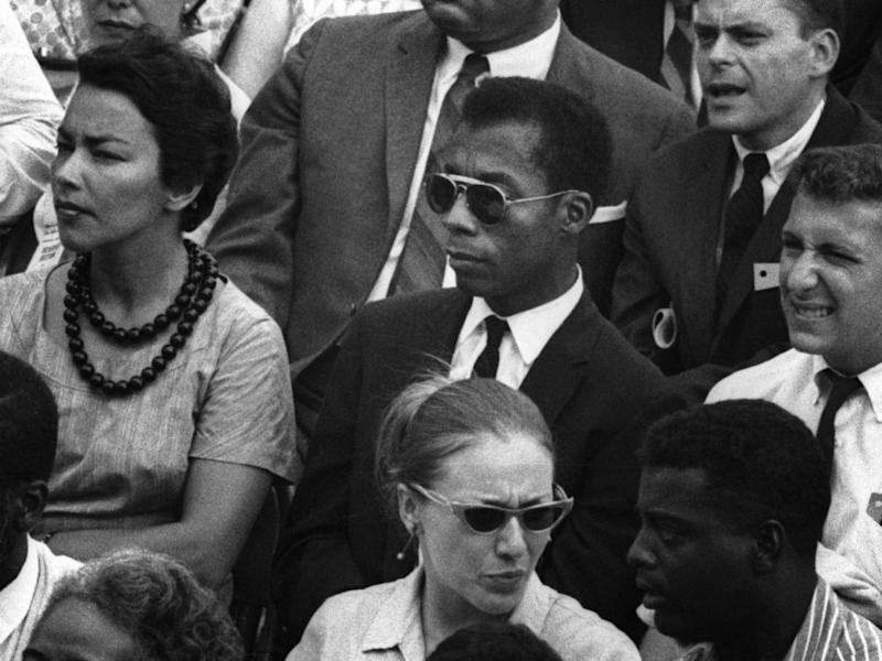 Writer James Baldwin is the subject of 'I Am Not Your Negro' (Magnolia Pictures)