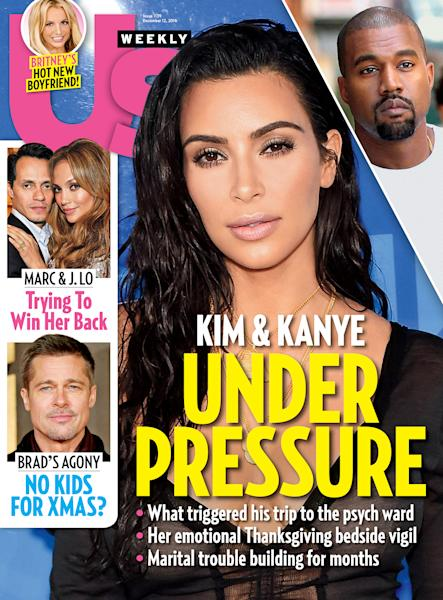 In the weeks leading up to Kanye West's hospitalization, he and Kim Kardashian were at odds, say sources, but his breakdown could heal their romance