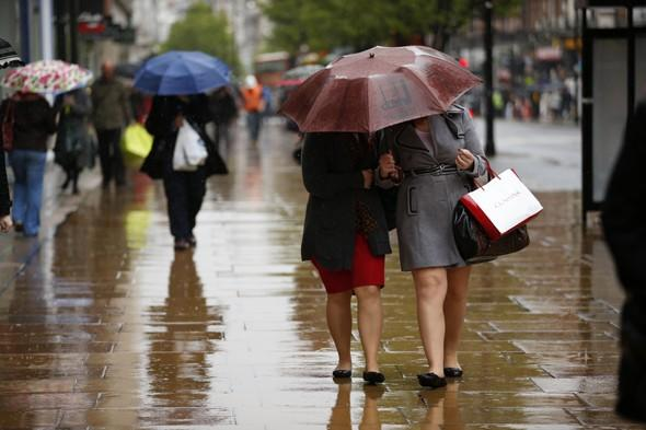 A month of rain in one day? Sunday to be wettest day of the year in Britain, april showes, uk weather forecast