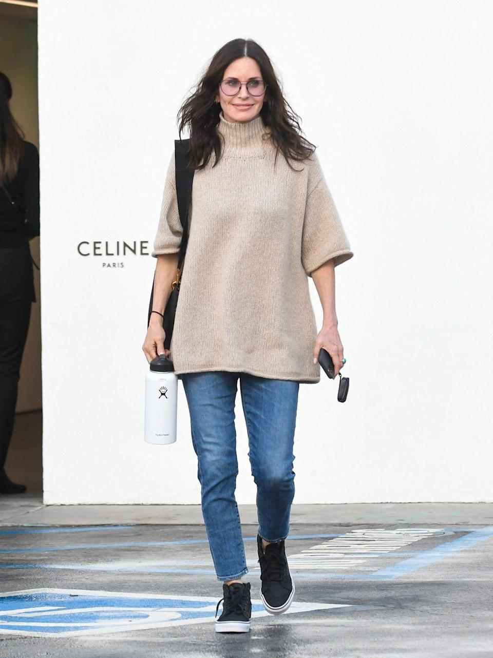 <p>Cox is thriving in 2021, looking better than ever. She recently reunited with the Friends cast and has been making multiple TV guest spots. She'll return to Scream in 2022.</p>
