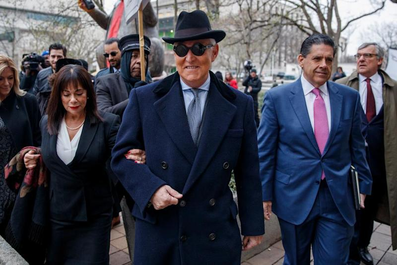 Roger Stone in Washington.