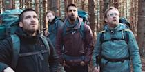"<p>Released in 2018, this Netflix original film will take hiking off your list of favorite activities for at least a few months. Four friends decide to brave the Swedish wilderness in honor of their murdered friend. But, their trip doesn't end up being the Cheryl Strayed experience they were hoping for.</p> <p><a href=""https://www.netflix.com/title/80217312"" class=""link rapid-noclick-resp"" rel=""nofollow noopener"" target=""_blank"" data-ylk=""slk:Watch The Ritual on Netflix now"">Watch <strong>The Ritual</strong> on Netflix now</a>.</p>"
