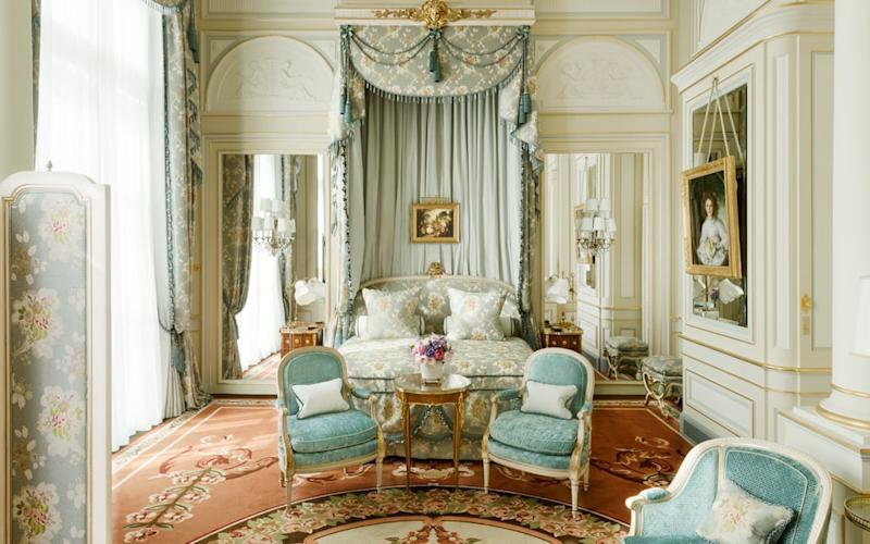 With beautifully preserved period furniture and paintings à la Louis XV, Ritz Paris is the perfect hotel to live like royalty
