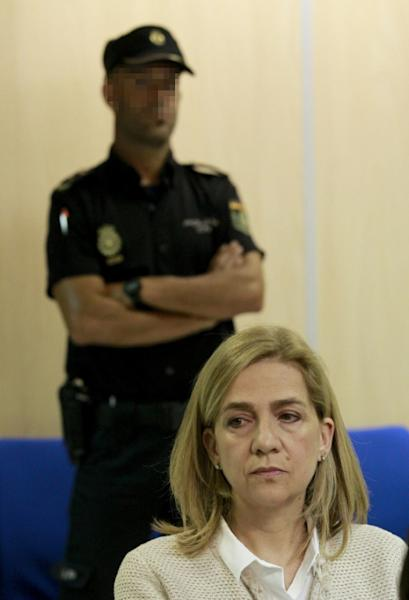 Princess Cristina was the first member of Spain's royal family to face criminal charges since the monarchy's restoration in 1975