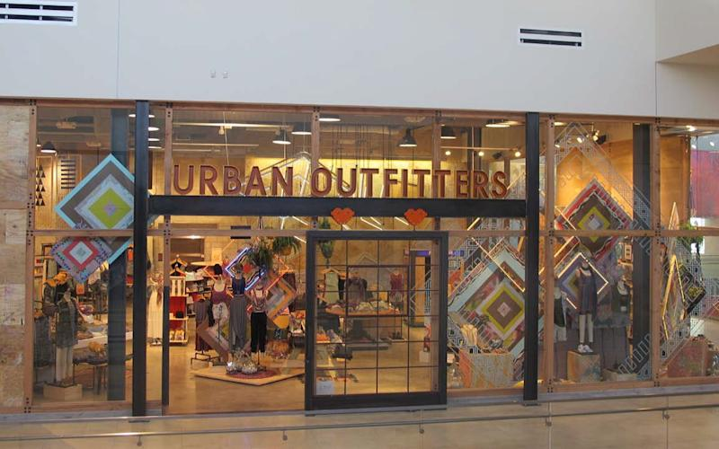 An Urban Outfitters storefront