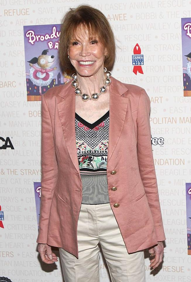"""December 29: Mary Tyler Moore turns 74 Ben Hider/<a href=""""http://www.gettyimages.com/"""" target=""""new"""">GettyImages.com</a> - July 10, 2010"""