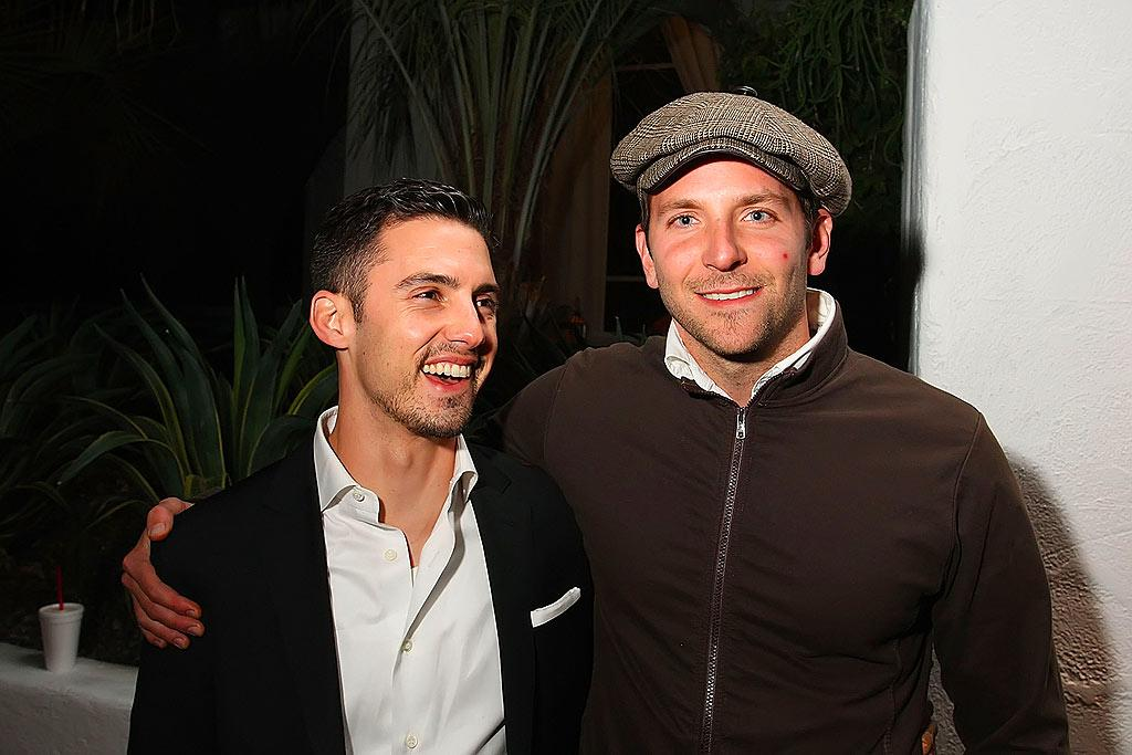 """""""Heroes"""" hottie Milo Ventimiglia and """"Nip/Tuck"""" co-star Bradley Cooper prepare to party with Wyclef Jean and Benji Madden at 944 Magazine's Super Village. Nick Doan/<a href=""""http://www.wireimage.com"""" target=""""new"""">WireImage.com</a> - February 1, 2008"""