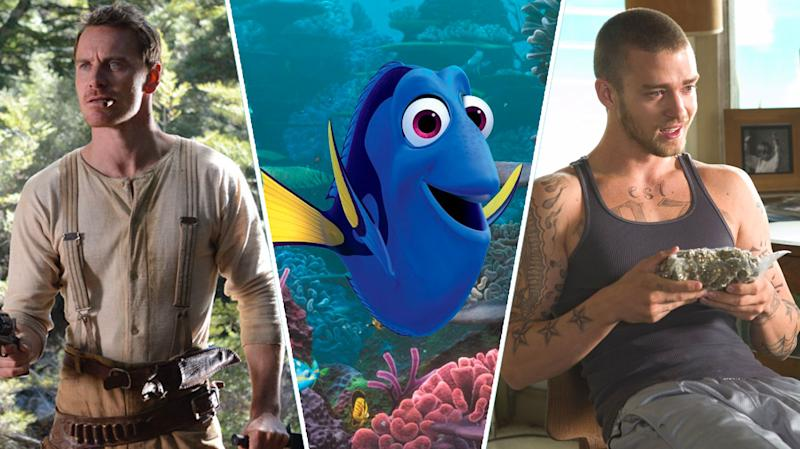 Slow West, Finding Dory, Alpha Dog.