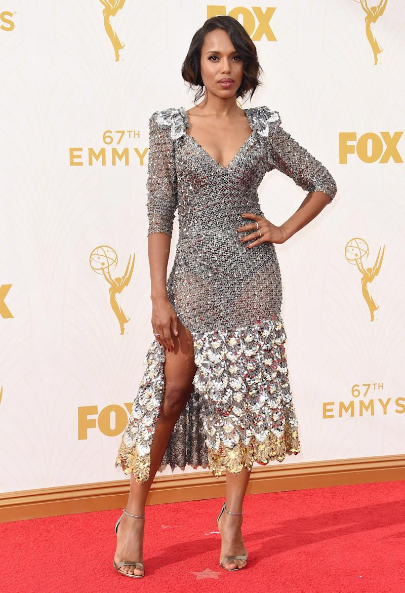 At the 67th Emmy Awards, September 2015