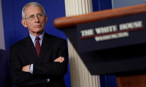 Fauci: no evidence anti-malaria drug Trump pushes works against virus