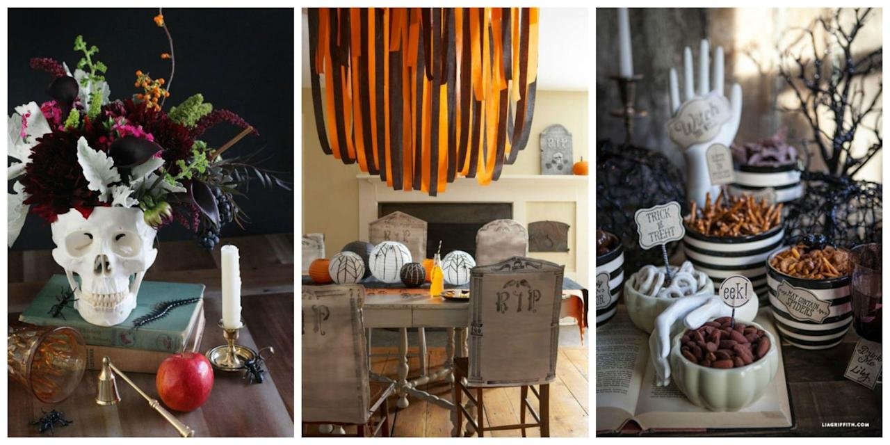 15 spooky and spectacular halloween centerpieces. Black Bedroom Furniture Sets. Home Design Ideas