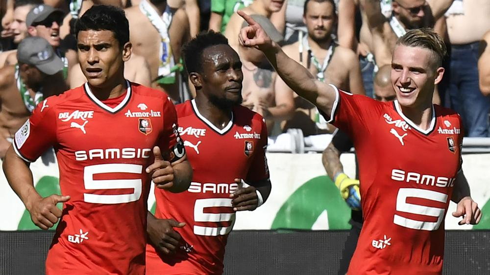 Benjamin Bourigeaud Saint-Etienne Rennes Ligue 1 24092017