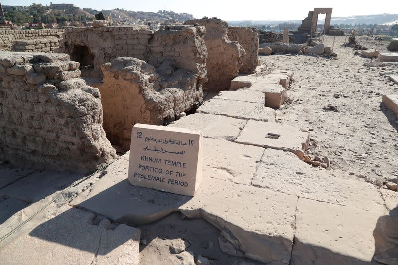 Ancient inscription reminds modern Egypt of drought risk