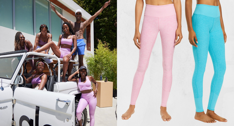These celeb-loved leggings are 40% off right now — and sizes are going fast (Photos via @aloyoga/Instagram & Nordstrom)