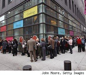 unemployment applications dropped