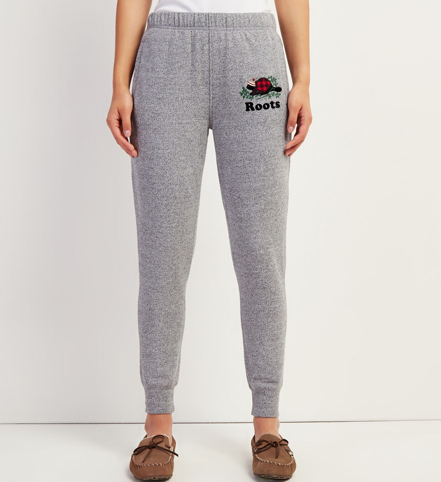 Cozy Buddy Slim Sweatpant. Image via Roots.