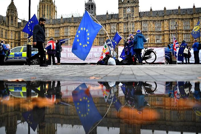 British sport has not been immune from the uncertainty of what the future holds when Britain leaves the European Union in March (AFP Photo/Ben STANSALL)