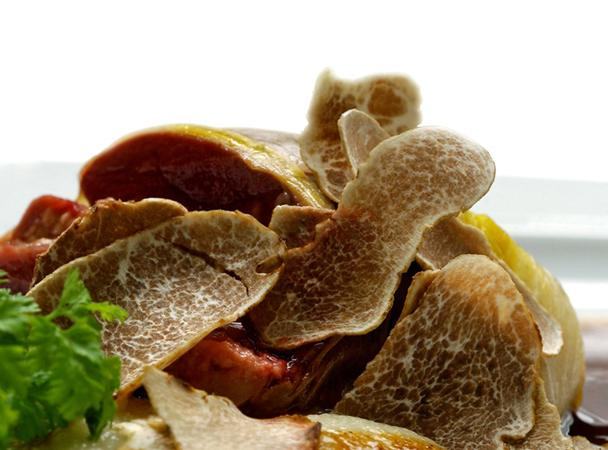 """<div class=""""caption-credit""""> Photo by: COURTESY OF URBANI</div><div class=""""caption-title""""></div><b>Most Expensive Fungus: White Truffles</b> <br> <br> <b>What:</b> The white truffle is found almost exclusively in the forests of northern Italy between the months of September and December. Its unique flavor-nutty, savory, and sweet-is commonly sampled in shavings atop dishes heavy on eggs, butter, and cheese, such as fresh pasta, fonduta (a mixture of melted cheese and wine), or a decadent scrambled-egg breakfast. <br> <br> <b>How Much:</b> White truffles retail for $7 to $11 per gram, or $3,000 to $5,000 per pound. Prices can be as high as $90 for a standard 8-gram portion, with an additional premium for a particularly large specimen. <br> <br> <b>Why Pay More:</b> No one has yet succeeded at cultivating white truffles, so the supply is extremely limited. The only way to source them is to forage within their limited natural habitat with the help of specially trained pigs and dogs."""