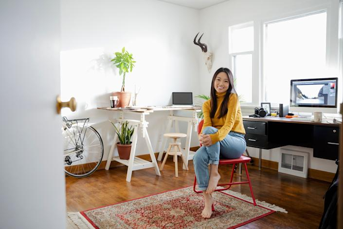 """<strong>For whenever you're feeling:</strong>Bored of your space; like you need to be revitalized; like the cold, grey weather is affecting your mood. <a href=""""https://www.huffingtonpost.ca/entry/rearrange-furniture-benefits_ca_5dd011bae4b0d2e79f8d8370"""" target=""""_blank"""" rel=""""noopener noreferrer"""">Read more here</a>."""