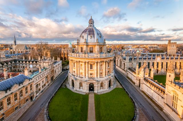 Oxford came top of a new ranking of best cities to live and work in the UK. Photo: Getty
