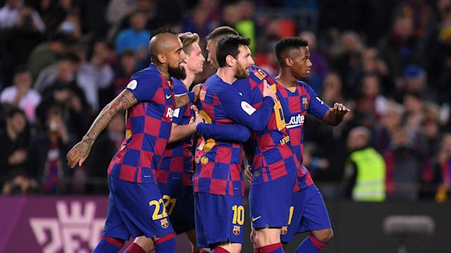 Barcelona made light work of beating Leganes on Thursday, booking their place in the quarter-finals of the Copa del Rey.