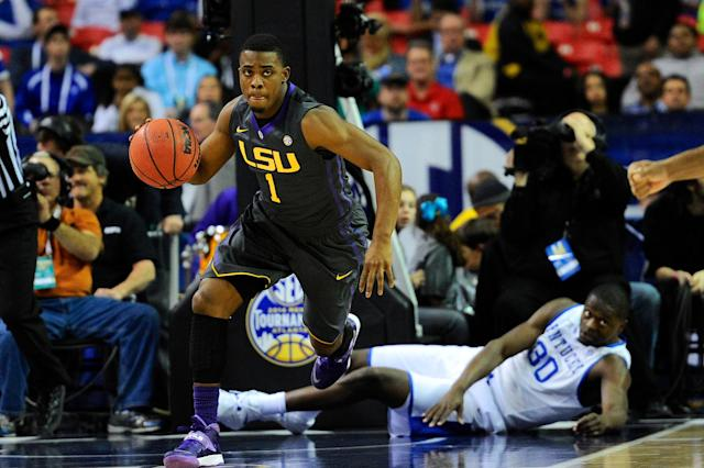 LSU jettisons three-year starting point guard Anthony Hickey