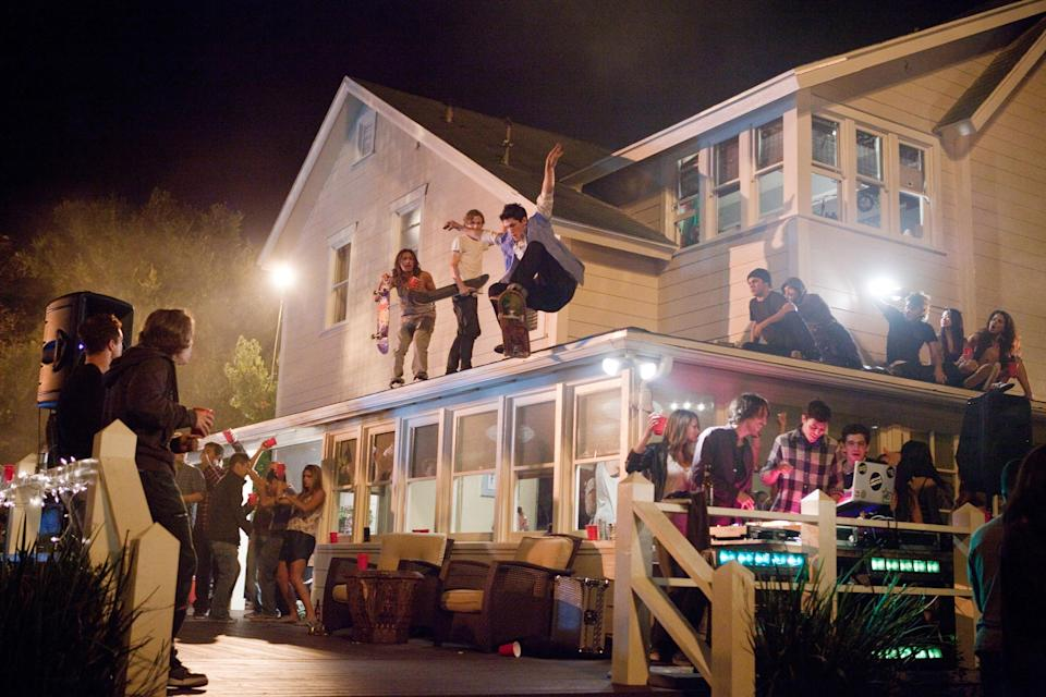 The dangers of teenagers throwing house parties — like these kids in the movie <em>Project X</em> — are numerous. (Photo: Everett Collection)