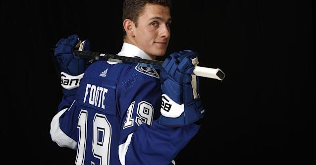 Quick Strikes: Nolan Foote joins his brother Cal as the Lightning first-round pick