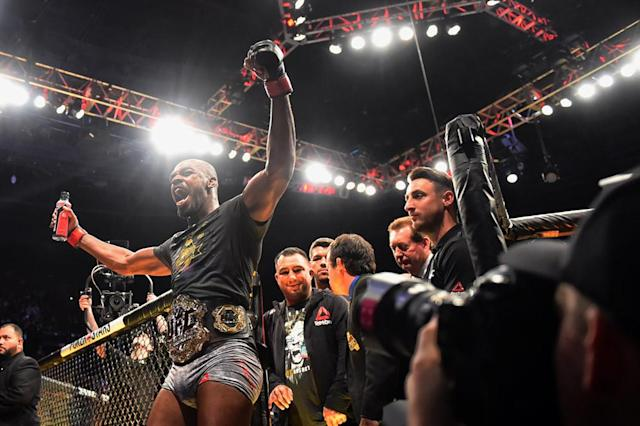 Jon Jones' drug test from UFC 232 fight night has come back clean after a questionable test result several weeks before. (Photo by Hans Gutknecht/Digital First Media/Los Angeles Daily News via Getty Images)