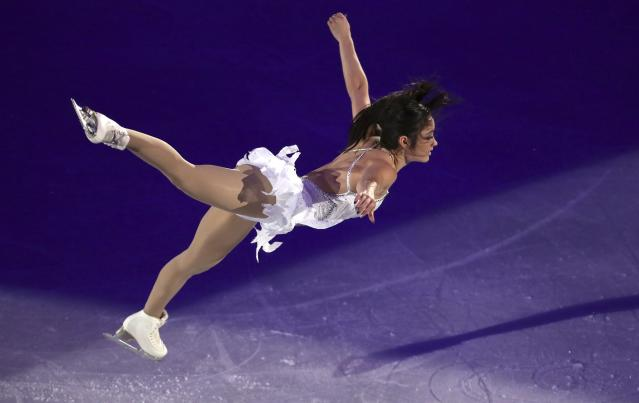 Figure Skating - Pyeongchang 2018 Winter Olympics - Gala Exhibition - Gangneung Ice Arena - Gangneung, South Korea - February 25, 2018 - Kaetlyn Osmond of Canada performs. REUTERS/Lucy Nicholson