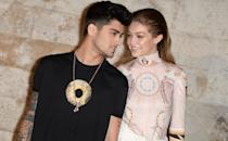 """In early January, reports surfaced that Malik and Hadid were taking a break from their relationship. """"They are in different points in their lives right now and decided they needed the time to breathe apart from each other,"""" an insider told <a href=""""https://www.eonline.com/news/1000936/gigi-hadid-and-zayn-malik-are-spending-time-apart-after-split-speculation"""" rel=""""nofollow noopener"""" target=""""_blank"""" data-ylk=""""slk:E!."""" class=""""link rapid-noclick-resp"""">E!.</a>"""