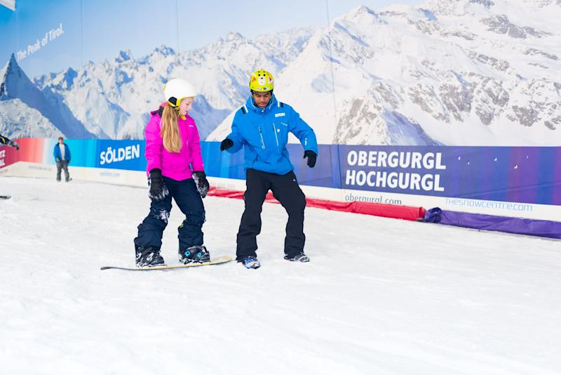 The programmes take place in snow domes and indoor slopes across the country. (Snow-Camp)