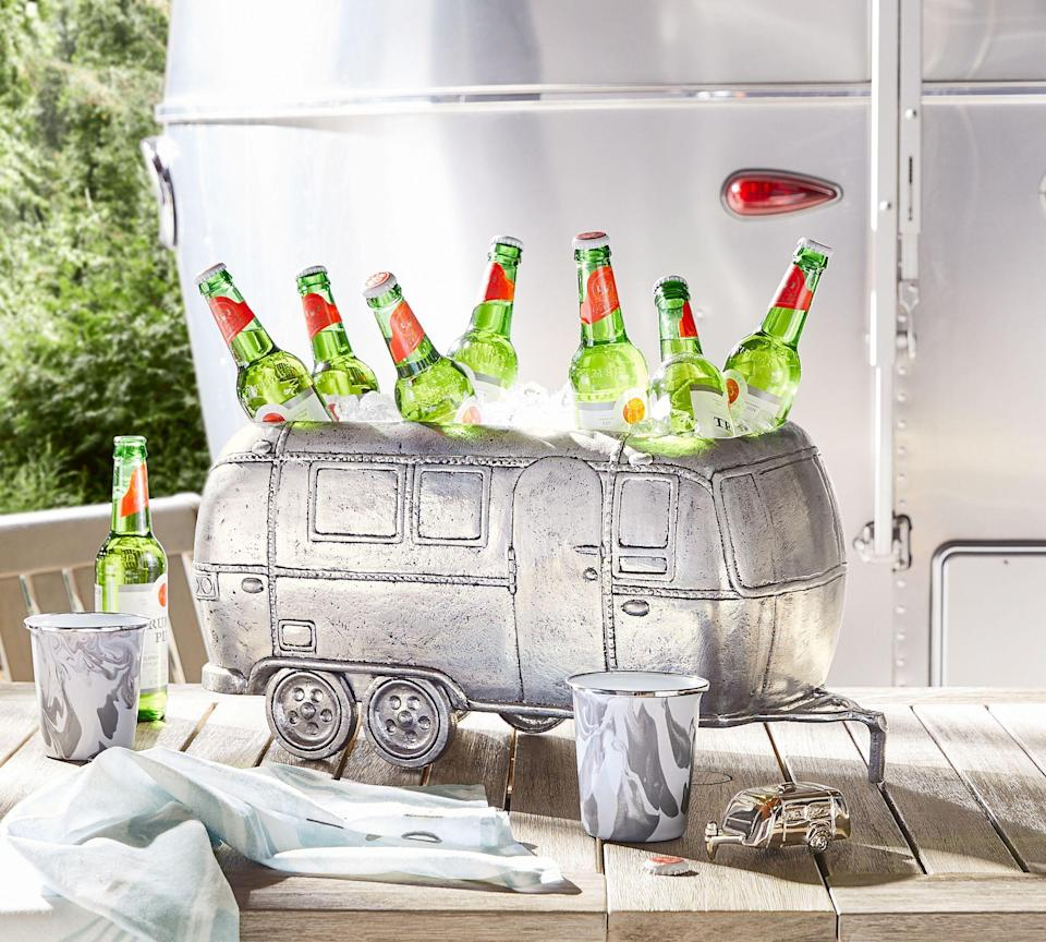 """<p>potterybarn.com</p><p><strong>$199.00</strong></p><p><a href=""""https://go.redirectingat.com?id=74968X1596630&url=https%3A%2F%2Fwww.potterybarn.com%2Fproducts%2Fairstream-cooler&sref=https%3A%2F%2Fwww.housebeautiful.com%2Fshopping%2Fg36412086%2Fpottery-barn-airstream-collection%2F"""" rel=""""nofollow noopener"""" target=""""_blank"""" data-ylk=""""slk:Shop Now"""" class=""""link rapid-noclick-resp"""">Shop Now</a></p>"""