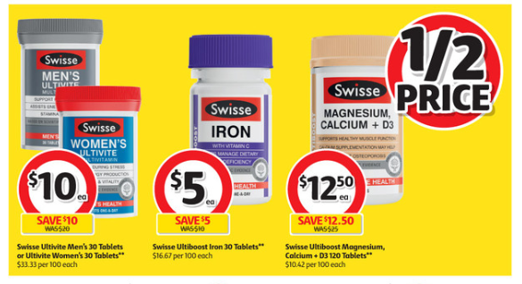 Woolworths And Coles Weekly Specials Half Price Deals For