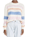 """There's something about a striped pullover that feels so perfect for fall, and while it's easy to gravitate to classic color schemes like navy and white, we're totally digging this candy-colored version. $89, Amazon. <a href=""""https://www.amazon.com/BB-Dakota-Womens-Making-Sweater/dp/B08B49S515?s=shopbop&ref_=sb_ts"""" rel=""""nofollow noopener"""" target=""""_blank"""" data-ylk=""""slk:Get it now!"""" class=""""link rapid-noclick-resp"""">Get it now!</a>"""