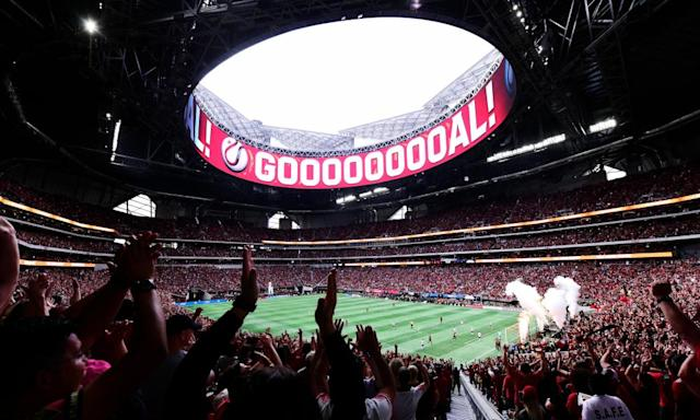 """<span class=""""element-image__caption"""">Teams such as Atlanta United have attracted big crowds in MLS.</span> <span class=""""element-image__credit"""">Photograph: Adam Hagy/USA Today Sports</span>"""