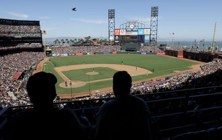 There were available seats at AT&T Park for the first time in seven years. (AP Photo)