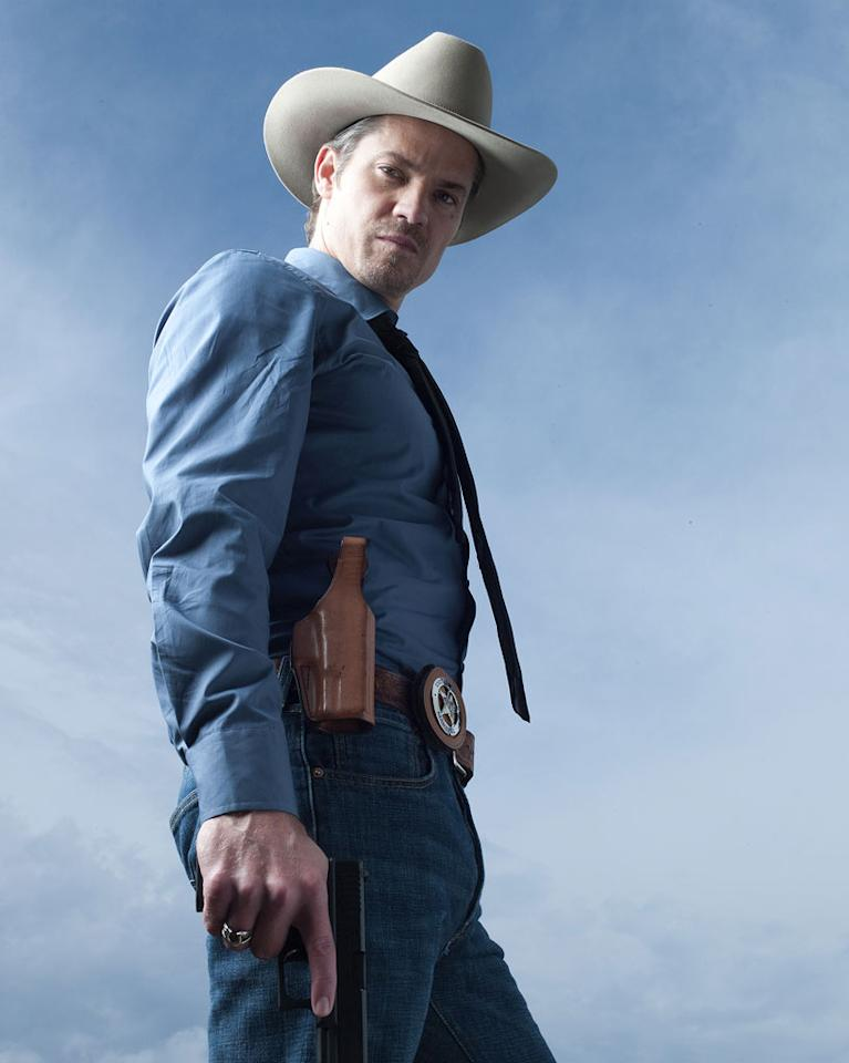 "Timothy Olyphant (""Justified"") is nominated for Outstanding Lead Actor in a Drama Series."