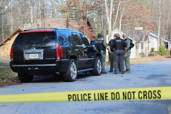 Cobb County Police on the scene Photo: Rosie Manins