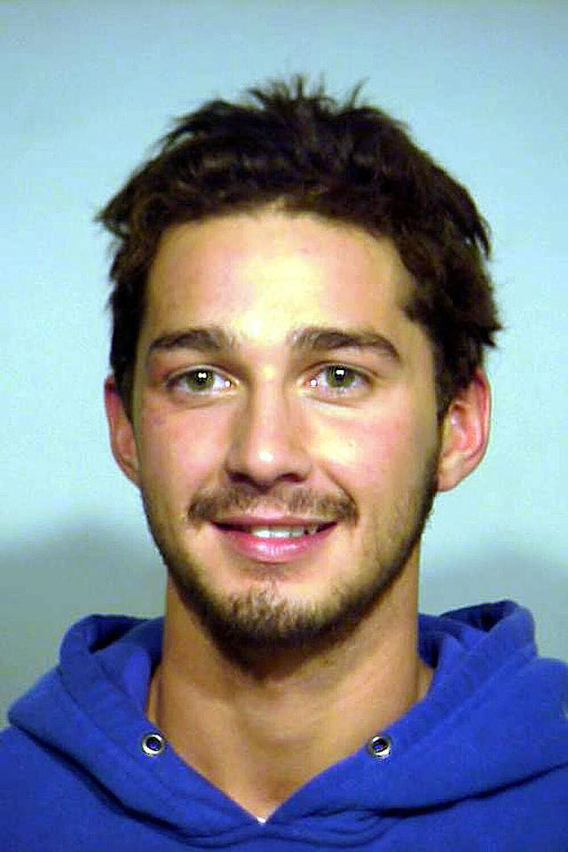 """Transformers"" star Shia LaBeouf was arrested on November 4, 2007 after allegedly refusing to leave a Chicago convenience store. Police later charged him with misdemeanor trespassing. <a href=""http://www.splashnewsonline.com"" target=""new"">Splash News</a> - November 5, 2007"